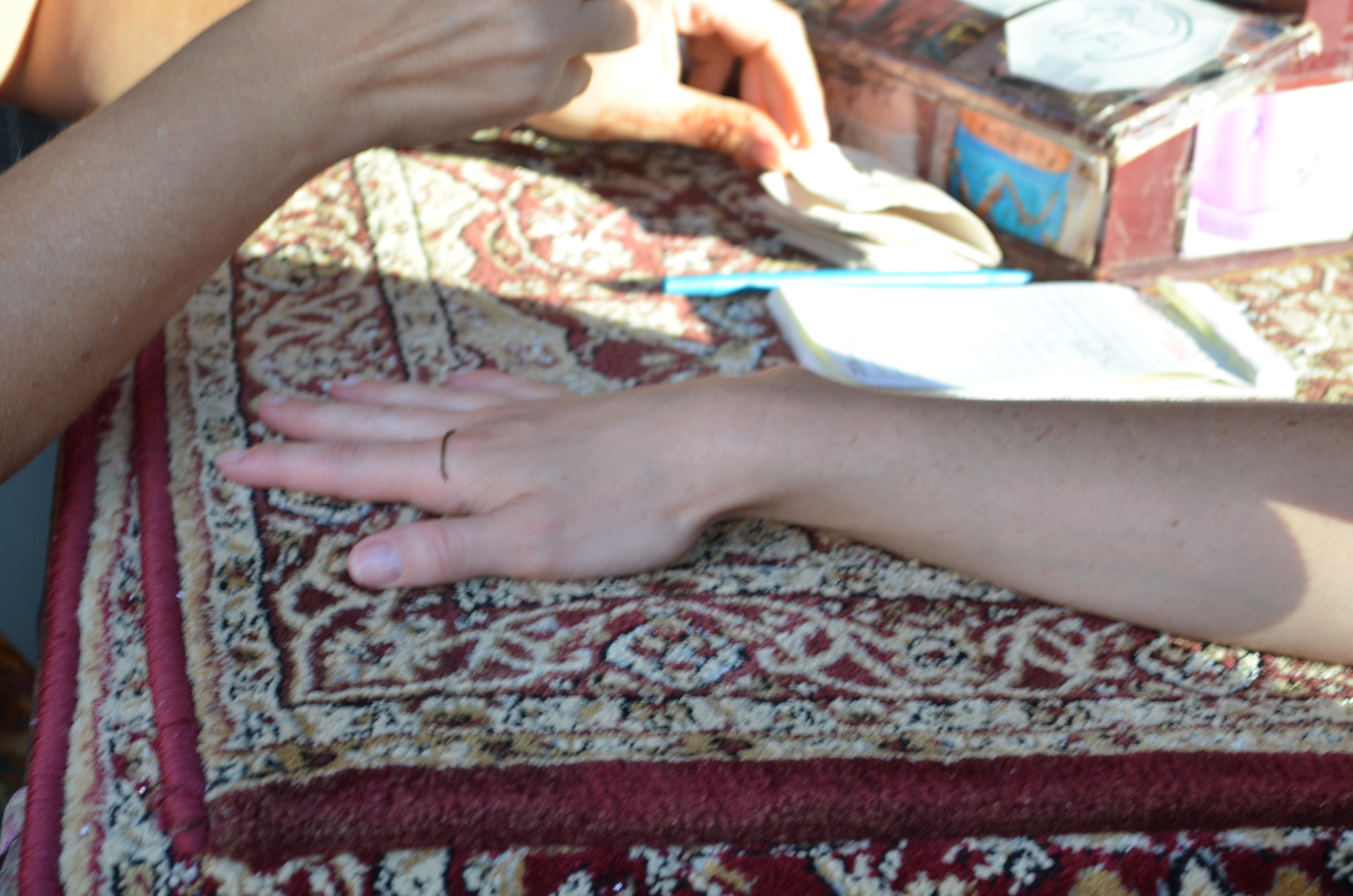 Henna in Epcot   Disney Momma