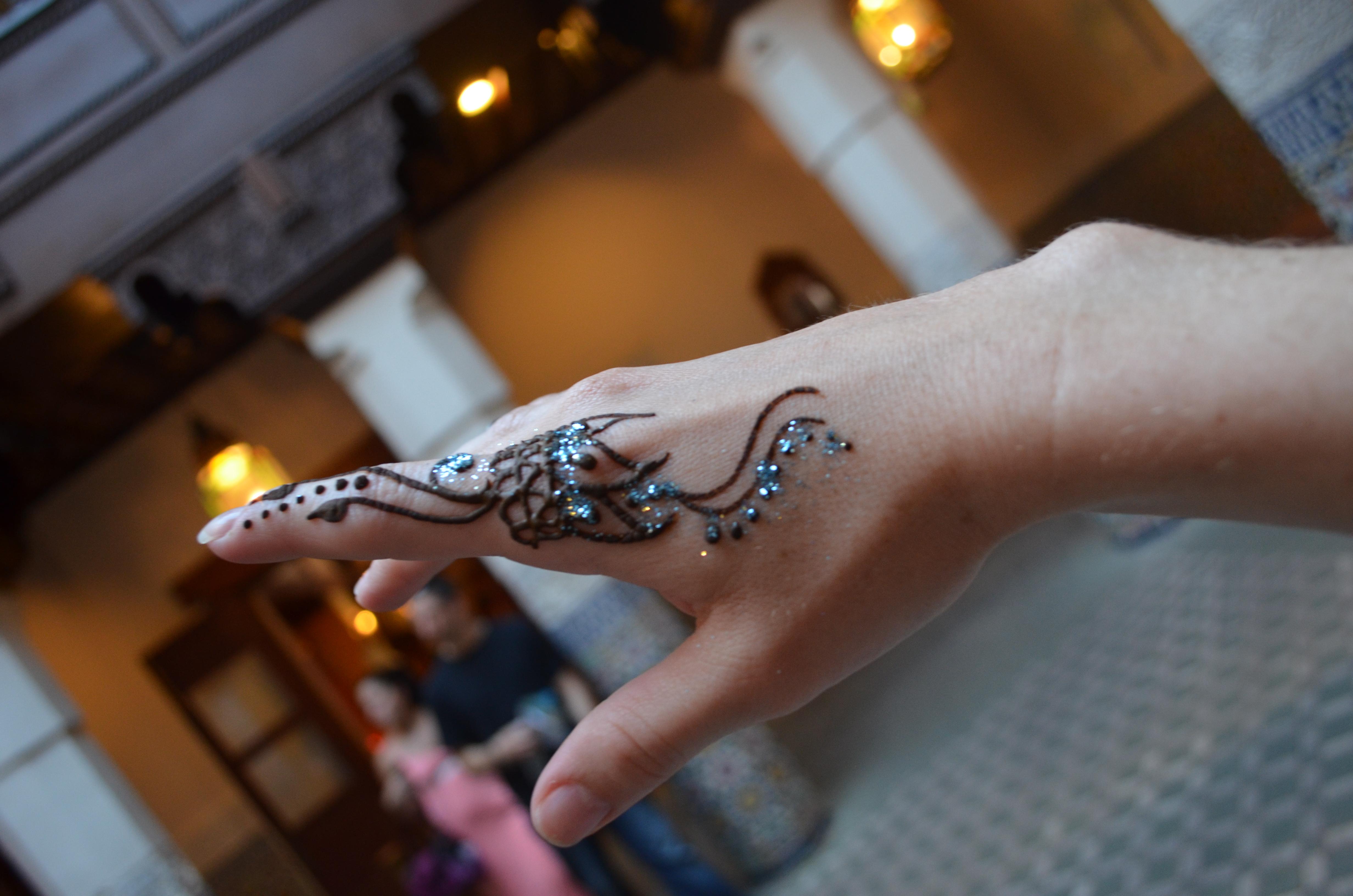 Henna in Epcot | Disney Momma