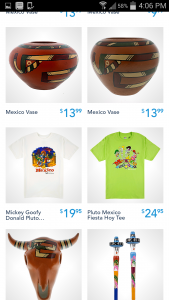 """I found a shirt that my son liked by searching for """"Mexico."""""""