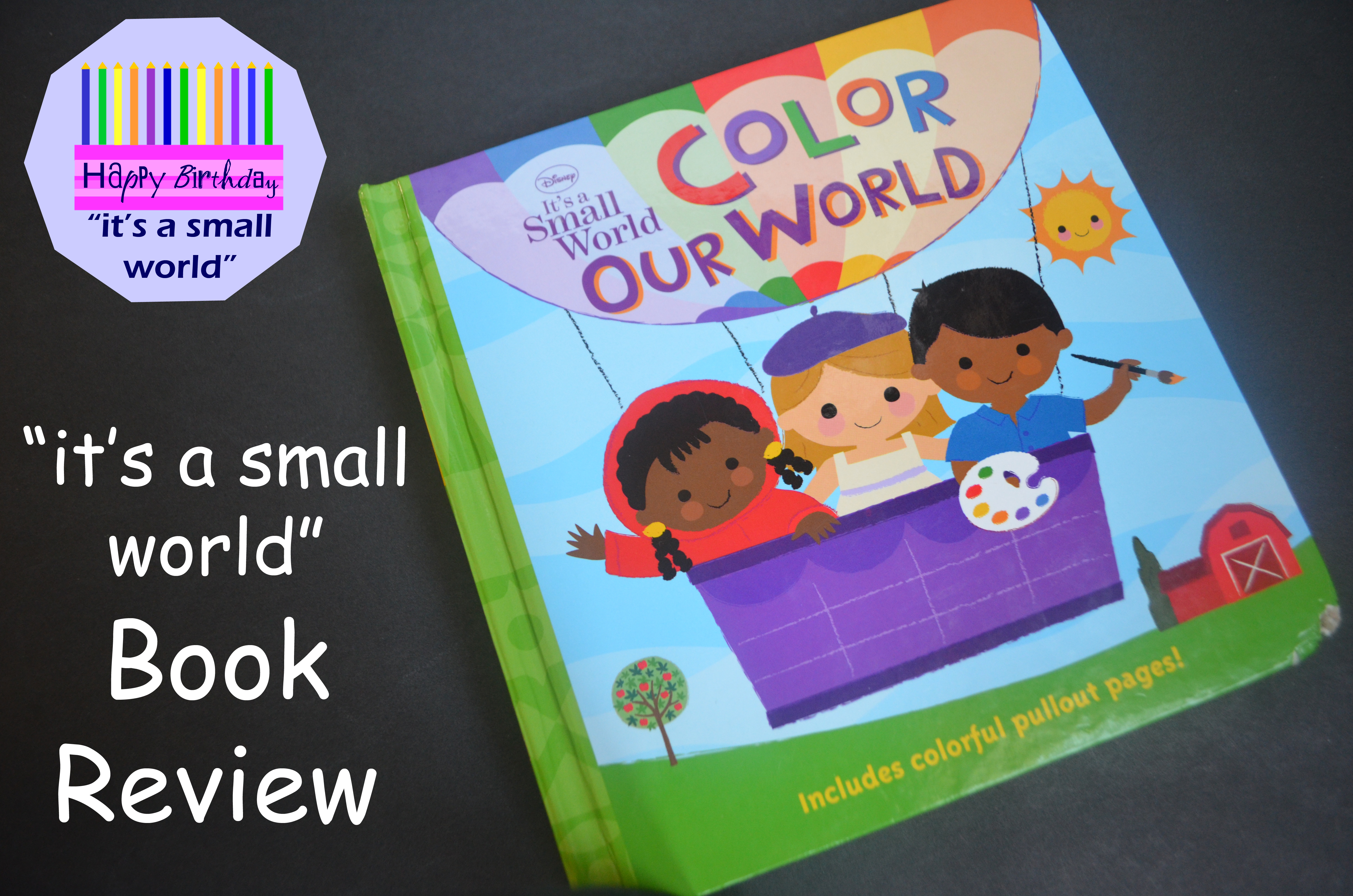 """It's a Small World:"" Color Our World – Book Review ..."