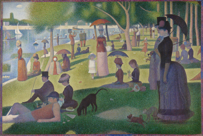 A Sunday Afternoon on the Island of La Grande Jatte  Image Credit: Art Institute of Chicago