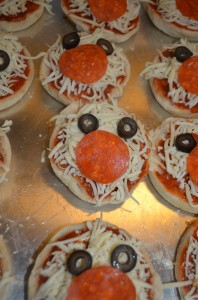 Mickey Pizzas