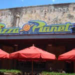 Pizza Planet outside