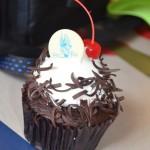 Choc Cherry Cupcake