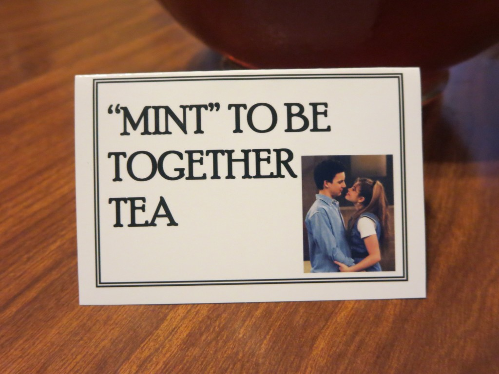 Mint Tea tag