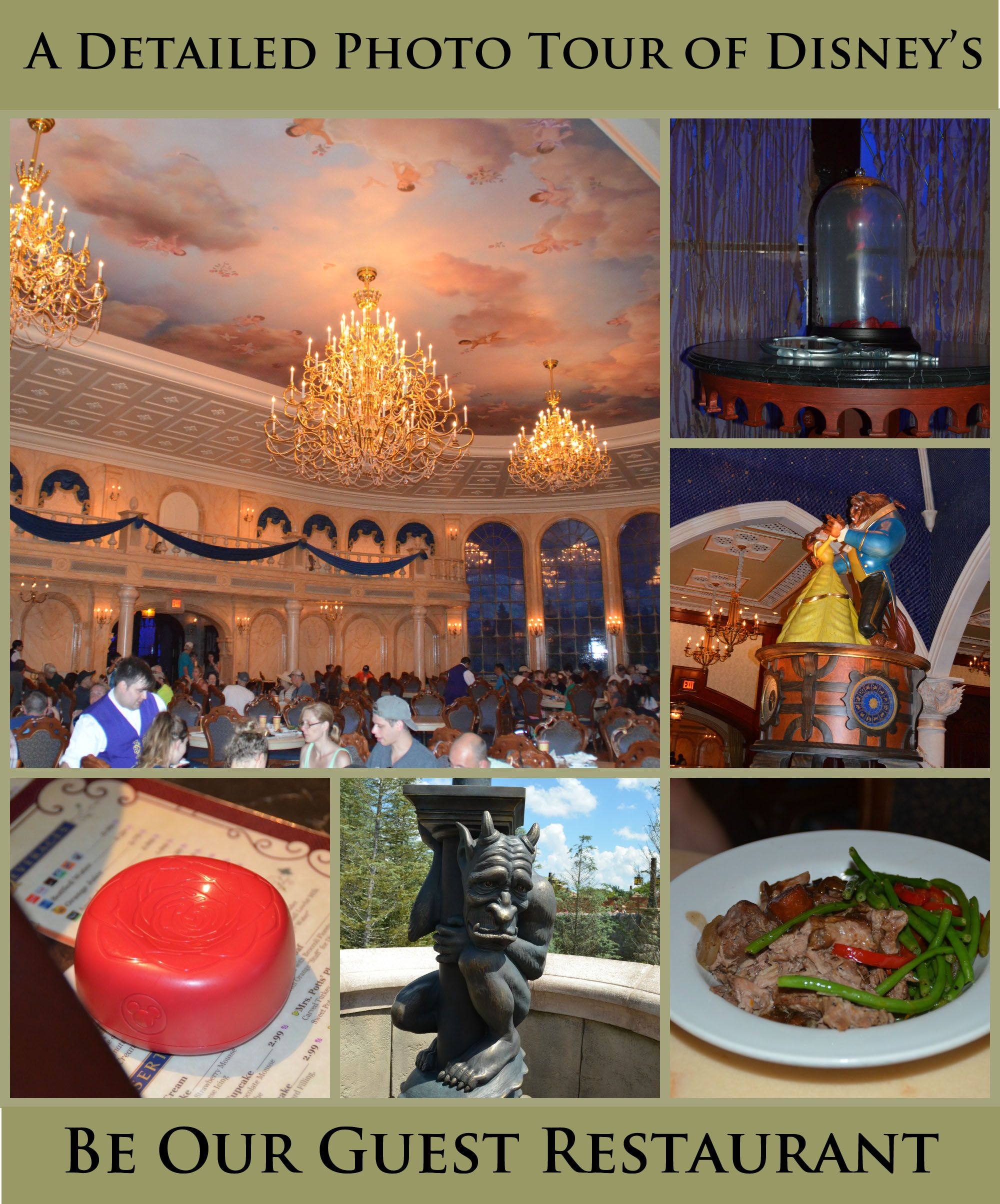 Photo Tour of Be Our Guest Restaurant