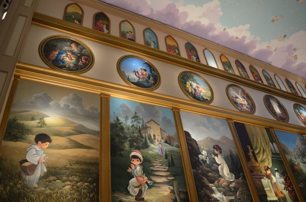 Precious Moments Chapel art
