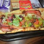 Italian Flatbread Sub