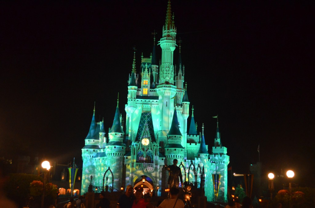 Patterns on the Castle during the Kiss Goodnight