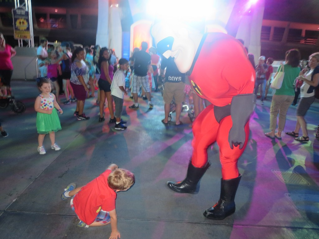 Our son came out of his shell and started break dancing at the character dance parties!