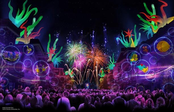 """Preview of """"Disneyland Forever"""" Fireworks for Diamond Celebration"""