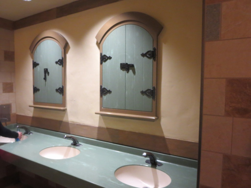 Rapunzel bathroom
