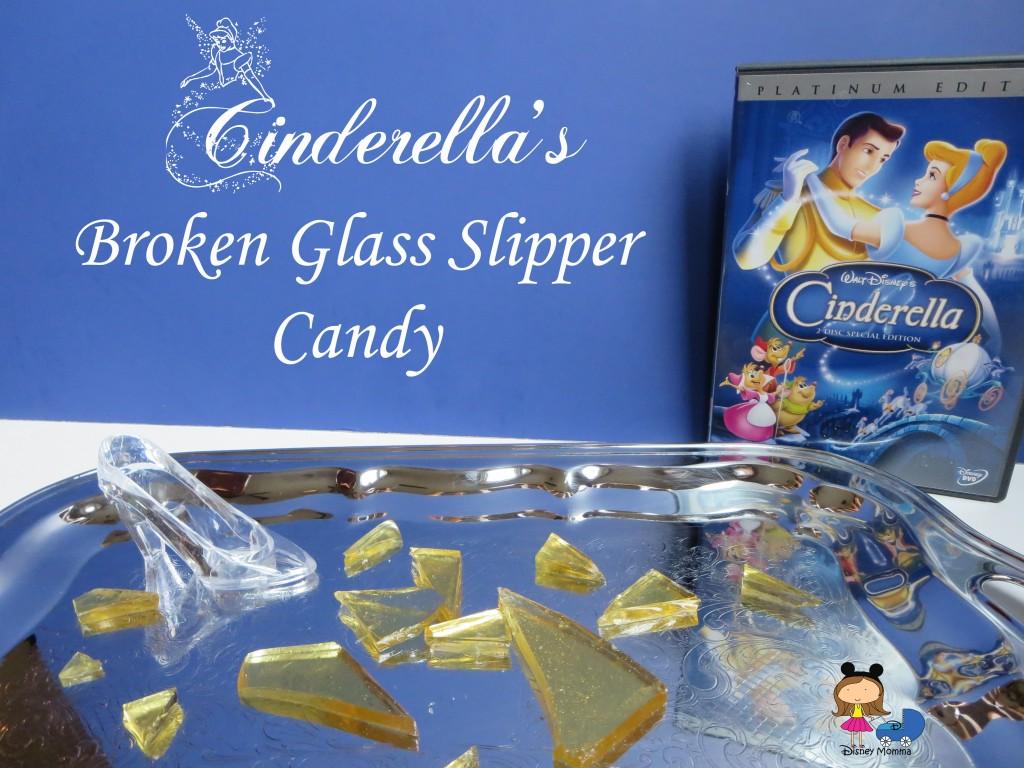 Cinderella's Broken Glass Slipper Candies