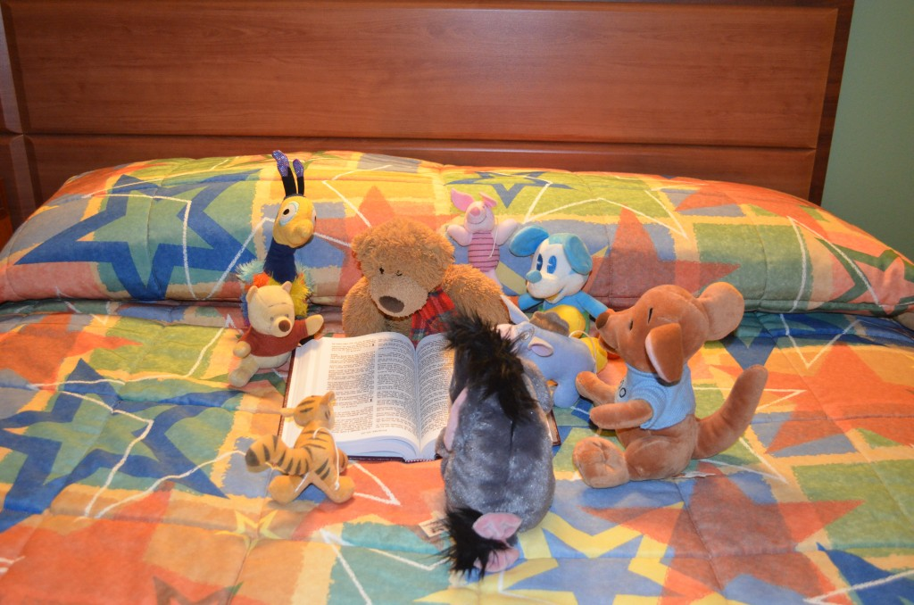Stuffed Animals Bible