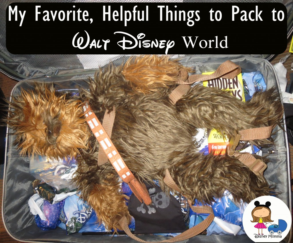 My Favorite, Helpful Things to Pack to Disney World