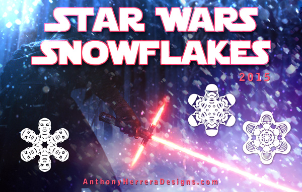 Christmas Star Wars Snowflakes