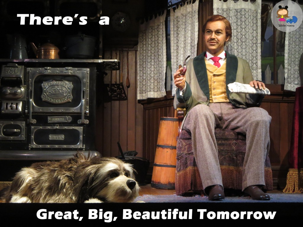 There's a Great, Big, Beautiful Tomorrow