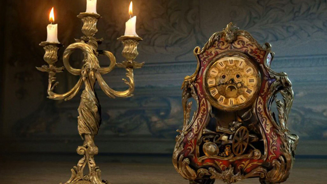 Lumiere and Cogsworth Revealed