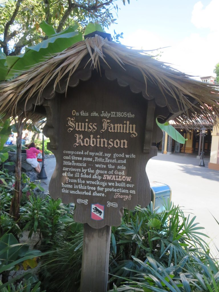 WDW Original Attraction:  Swiss Family Treehouse