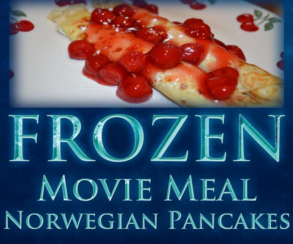 Frozen & Norwegian Pancakes