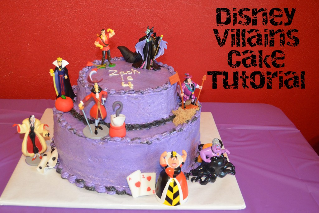Disney Villains Cake: Part 1