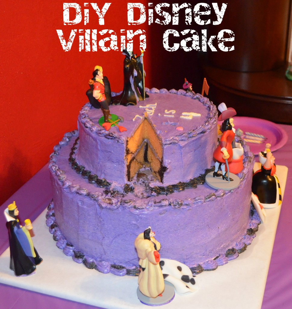 Disney Villains Cake: Part 2