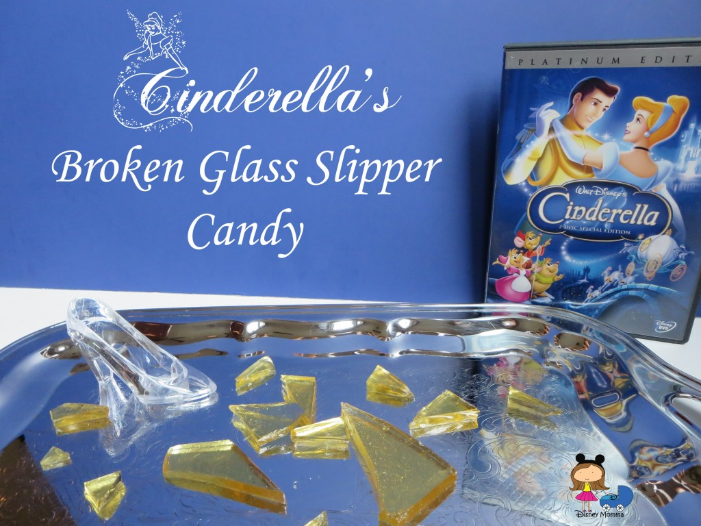 Cinderella's Broken Glass Slipper Candies