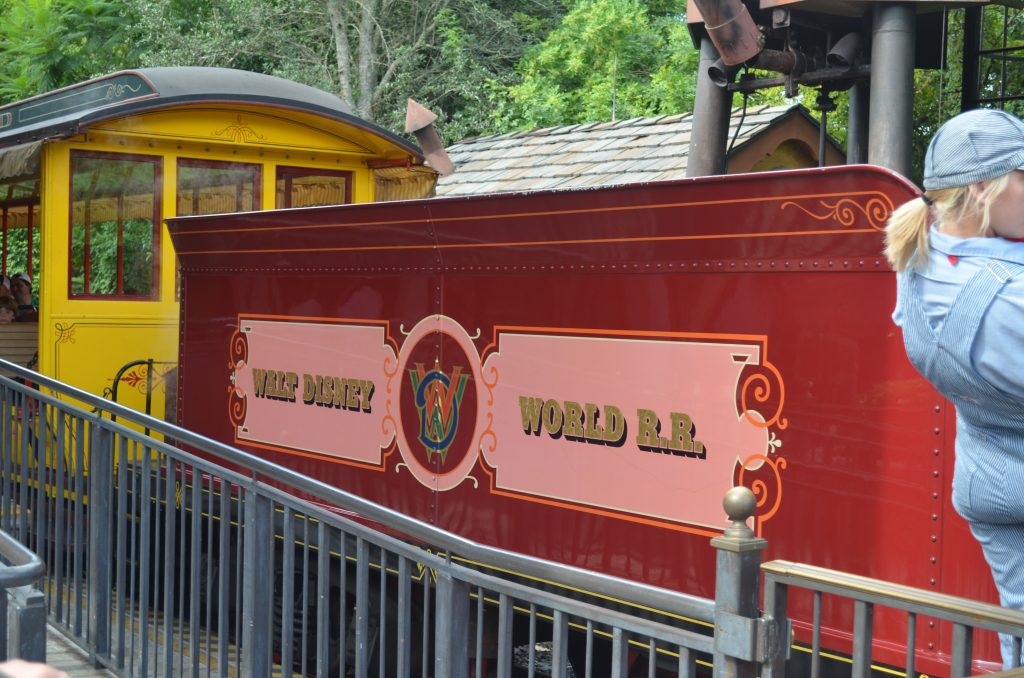 WDW Original Attraction: Walt Disney World Railroad
